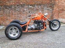the flapster reliant trike