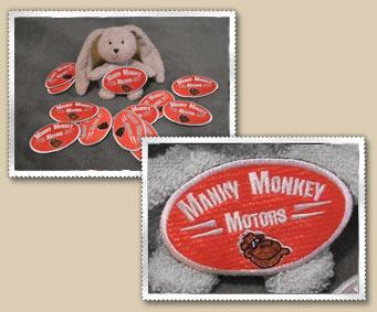 Merchandise At Manky Monkey Motors